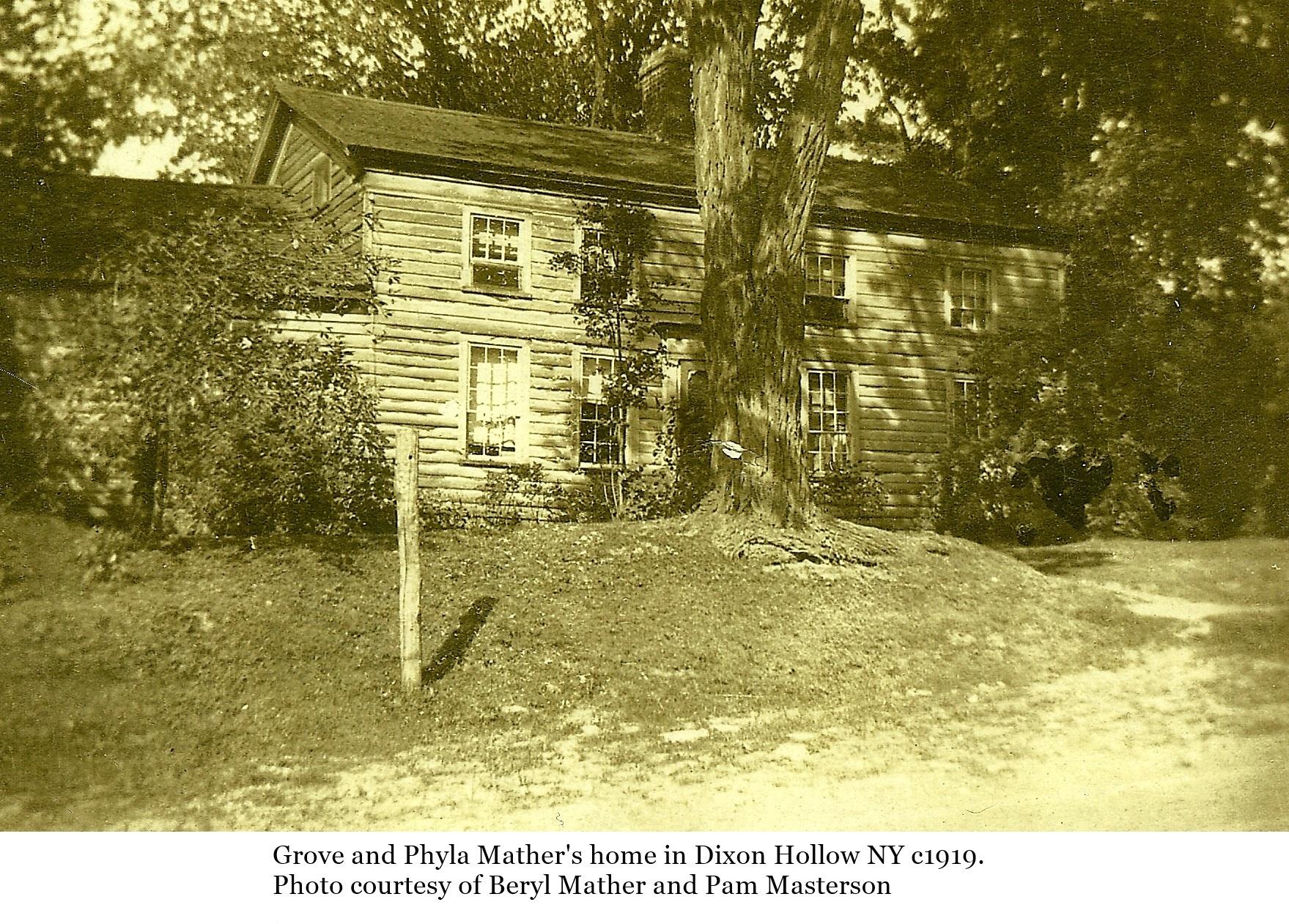 History of Dixon Hollow NY - Hemlock and Canadice Lakes